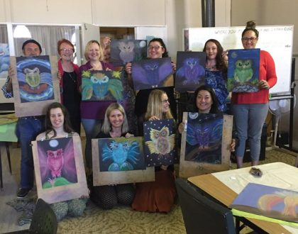 Merle Tait, Intuitive Art Workshop Wrap Up